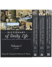 Dictionary Of Daily Life In Biblical And Post-Biblical Antiquity, 4 Vol Boxed Set