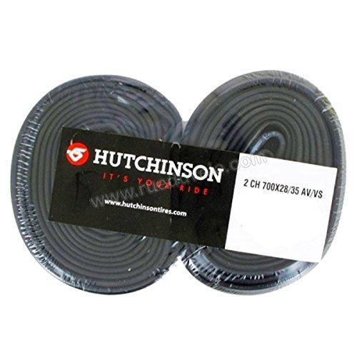 Blister 2 camaras Hutchinson 700x28-35 schrad.40mm: Amazon.es ...