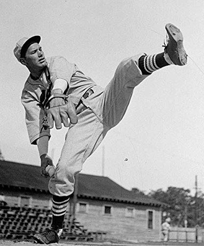An 8 x 10 Photo Framed Jay Dizzy Dean Vintage Mlb Baseball Player