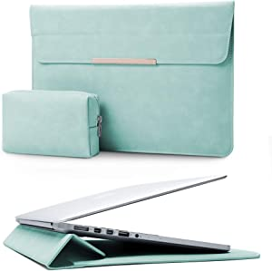 KALIDI 13.3 inch Laptop Sleeve Case Faux Suede Leather for MacBook Air Pro Retina 2016-2020, for 13