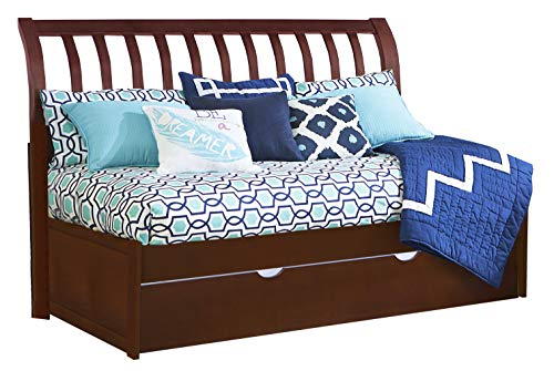 Trundle Cherry Daybed (Hillsdale Furniture 31034NDBT Hillsdale Kids and Teen Pulse Rake Sleigh Twin, Cherry Daybed with Trundle)