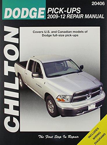 Dodge Truck Manual - Chilton Dodge Ram Pick-Ups 2009-2018 (20406)