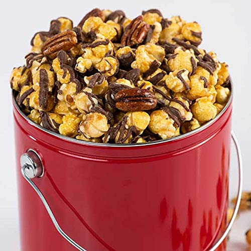 Chocolate Glazed Pecan Caramel Corn Gift Tin
