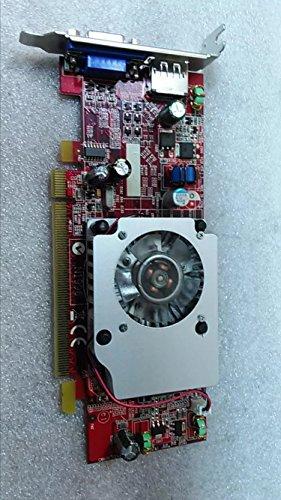 LOW PROFILE ATI Radeon HD3470 3470 256MB DisplayPort VGA DUAL MONITOR PCI-e Graphics Video Card ()