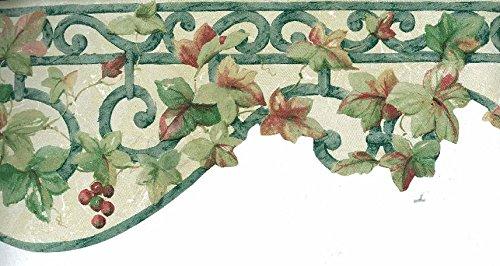 Norwall Grape Vine Die Cut Wallpaper Border Pattern Numbe...