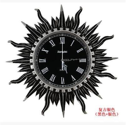 CNMKLM Diseño moderno para la decoración del hogar Reloj de pared Reloj de pared de madera Vintage Retro estilo Europa #4: Amazon.es: Hogar