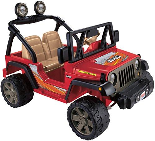 512X3Ob0yVL - Power Wheels Jeep Wrangler, Red