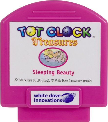 Tot Clock Treasures: Sleeping Beauty + Princess and the Pea (compatible with New & Improved Tot Clock only)