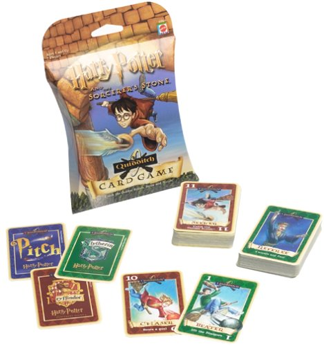 Harry Potter Card Games (Harry Potter and the Sorcerer's Stone Quidditch Card Game)