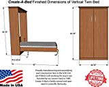 Twin Size Deluxe Murphy Bed Kit, Vertical
