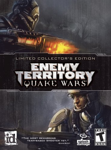 Amazon com: Enemy Territory: Quake Wars Limited Collectors