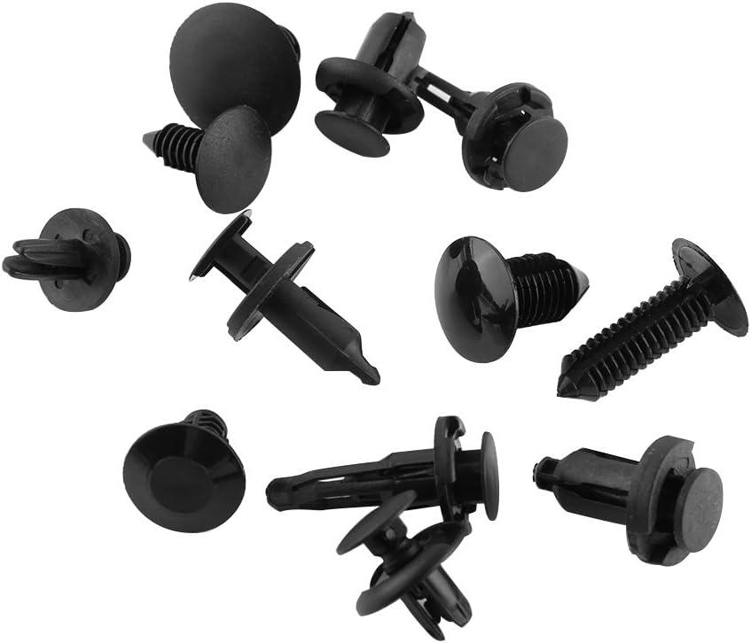 240 Pcs Auto Retainer Clips Bumper Fasteners Set Push Pin Rivet Trim Clip Screws Kit Panel Body Interior Assortment
