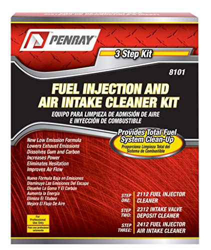 (Premium Parts LLC. Penray 8101 3 Step Fuel Injection and Air Intake Cleaning Kit)