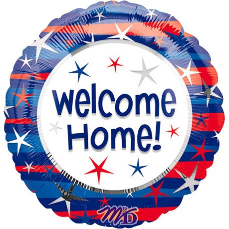 """18"""" Welcome Home Patriotic (1"""