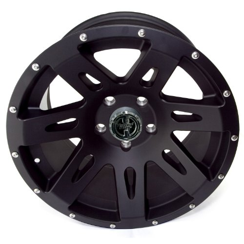 Rugged Ridge 15301.01 XHD Black Satin Wheel for Select Jeep Wrangler JK Models (17x9