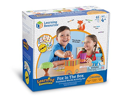 512X5R5CzZL - Learning Resources Fox In The Box Position Word Activity Set, Phonics Game, Preschool, 65 Piece Set, Ages 3+