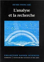L'ANALYSE ET LA RECHERCHE. Choix de textes