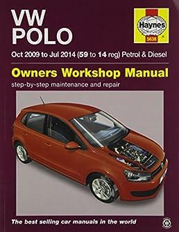 vw polo 09 14 haynes repair manual amazon co uk anon rh amazon co uk vw fox workshop manual free download vw fox repair manual free download