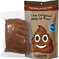 Original Bag of Poo--Brown Cotton Candy