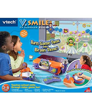VTech V.Smile TV Learning System Games at amazon