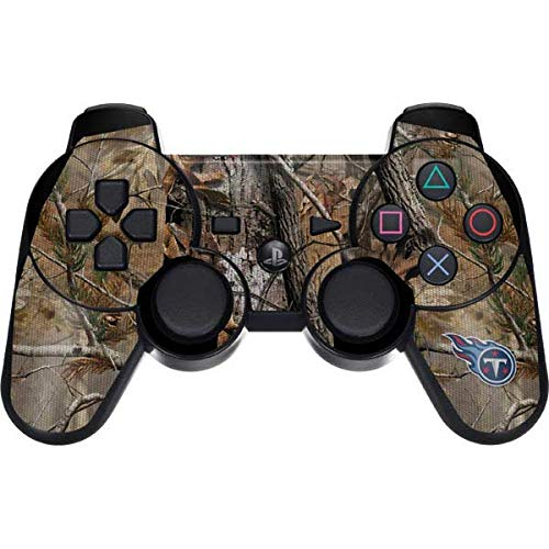 Skinit Tennessee Titans Realtree AP Camo PS3 Dual Shock Wireless Controller Skin - Officially Licensed NFL Gaming Decal - Ultra Thin, Lightweight Vinyl Decal Protection