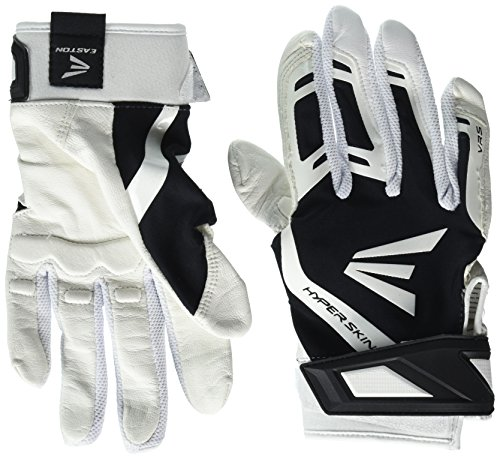 Easton ZF7VRS Fastpitch Batting Glove WH/BK L