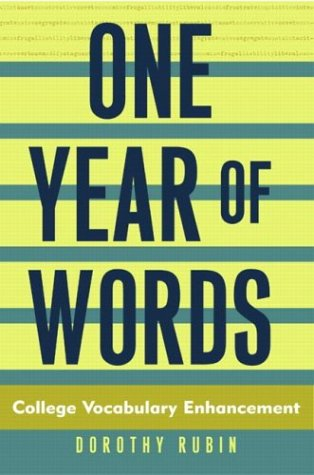 One Year of Words: College Vocabulary Enhancement
