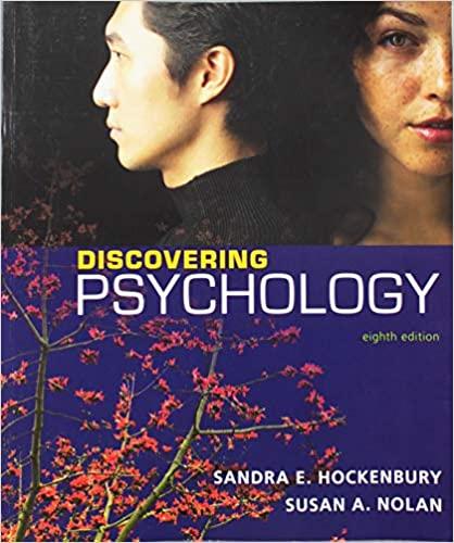 Discovering Psychology  by Hockenbury/Hockenbury