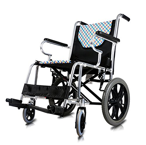 Ultra Lightweight Folding Wheelchair Manual Wheelchair With Front Rigging Options Desk Length Arms Handbrakes And Elevating Leg Rests Small Wheels Stylish  Yyy