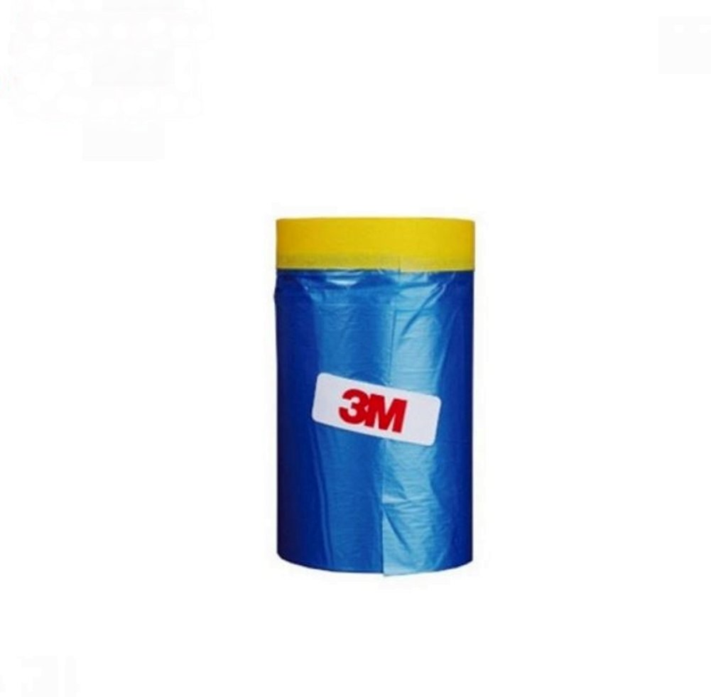 Amazon.com: 3M Car Masking Tape, Tapen Drape Pre-Taped (65 Feet)  (25.6 In): Office Products