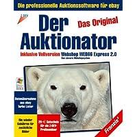 """Der Auktionator 2.0, CD-ROM Das Original. Die professionelle Auktionssoftware für eBay. Inkl. Webshop Web66 Express 2.0"""". Für Windows 95/98/2000/NT/Me/XP"""