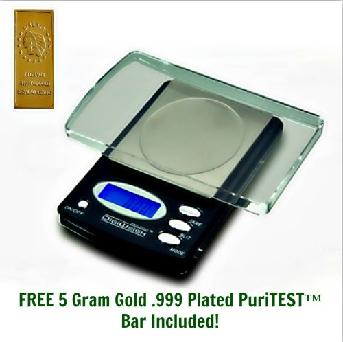 Deluxe Appraisal Scale for Weighing/Testing Pure/Plated Gold Silver Platinum Palladium Bullion Coins Ingots Bars