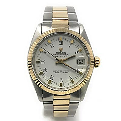 Rolex Datejust Swiss-Automatic Female Watch 6827 (Certified Pre-Owned) from Rolex