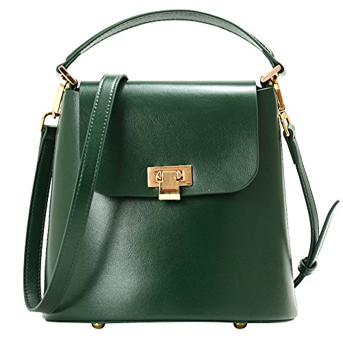 Fashion Bag Sn04031 Green Bucket Tote Vintage Bag Women Crossbody Jamron Shoulder Bag Black XqfROnwZw