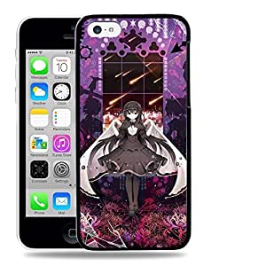 Diy iphone 5 5s case Designs Puella Magi Madoka Magica MadokaHomura Akemi Protective Snap-on Hard Back Case Cover for Apple iPhone 5 5S