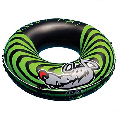 Intex 2-Pack River Rat 48-Inch Inflatable Tubes for Lake/Pool/River | 2 x 68209E (Tube Inflatable)