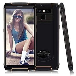 64GB Unlocked Rugged Smartphone,6000mAh,IP68 Waterproof,5.5 Inch HD+,9V/2A Fast Charge, 4GB RAM, Dual 4G LTE,Android 8.1,13MP+16MP Triple Cameras,NFC,OTG,Fingerprint, GPS,CUBOT King Kong 3