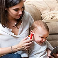 Kinsa Smart Ear Thermometer for Fever - Accurate, Fast, FDA Cleared  Thermometer - Best Digital Medical Children, Kid, Adult and Baby Termometro  -