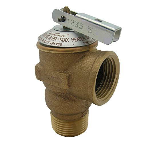 LASCO 05-1713 150 PSI Pressure Relief Valve with 3/4-Inch Pipe Thread - 150 Psi Safety Valve
