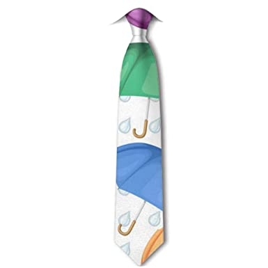 HYUS Patrón de paraguas Corbata de hombre Traje de negocios ...