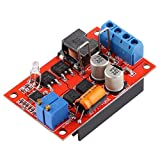 SODIAL(R) MPPT Solar Controller Battery Charging Board 1-100W 5A DC5-26V Output Stepless Light Indicator Module