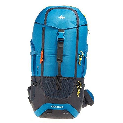 DECATHLON QUECHUA FORCLAZ 60 varios días TREKKING Mochila azul: Amazon.es: Deportes y aire libre