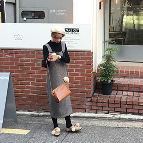 De Boda Las Vendimia Mujer Mujeres Bolsos Señoras Solo Del Brown Bolso Cuero Moda Messenger Crossbody Partido La Bolsas qWA1df