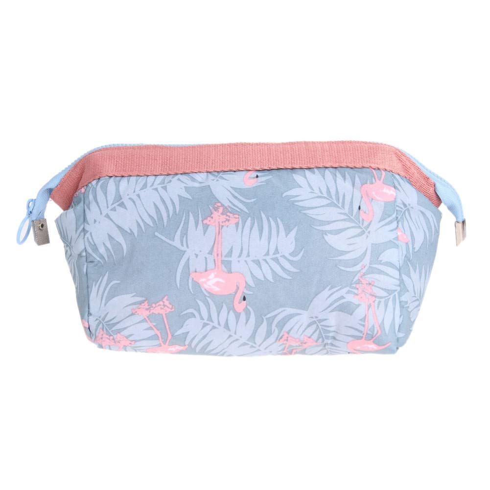 Amazon.com: Storage Bag - 18x13x9cm Double Zipper Women ...