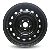 Toyota Corolla Matrix New Black Steel Wheel 16 Inch Full Size Replica Spare Rim (16x6.5'' 5x100mm or 5x3.94'' Offset of 40mm and Center Bore of 54.1mm)