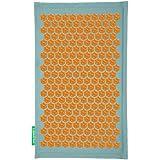 Champ de Fleurs - Turquoise-Orange