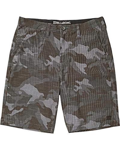 Billabong Boys' Crossfire X Slub Shorts Char Camo 24