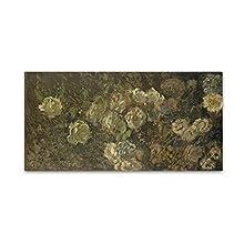 Bloeman by Monet, 12x24-Inch Canvas Wall Art
