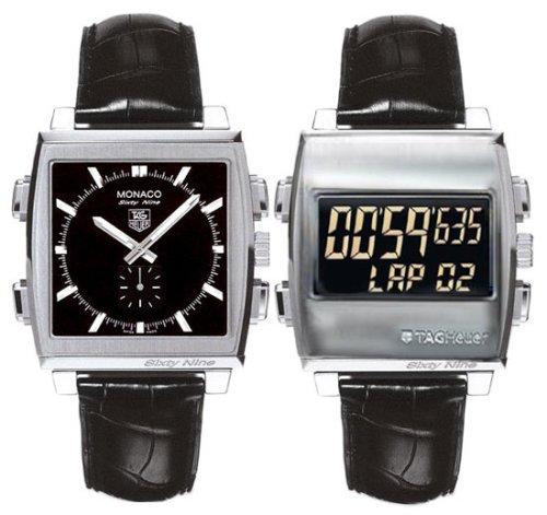 TAG Heuer Men's CW9110.FC6177 Monaco 69 Ana-Digi Chronograph Watch