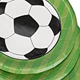 Soccer Paper Plates Party Supplies- Soccer Game